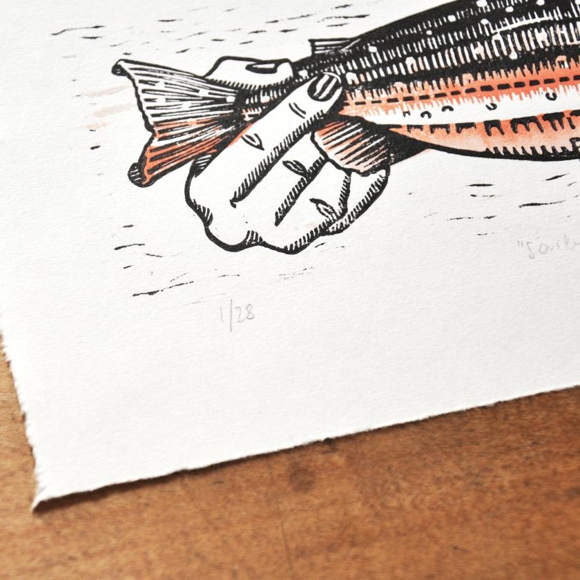 Fische Halten_sign